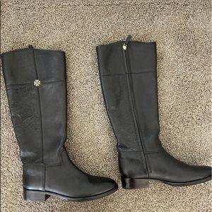 Black Tory Burch Boots